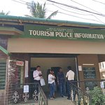 Tourist office for booking tickets for entry