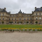 Luxembourg Palace on a dreary day is still magnificent