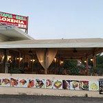 Esterno del ristorante dal Parcheggio