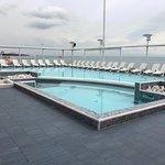 piscina in terrazza