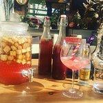 Homemade Rhubarb Gin