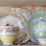 just some of our vintage china