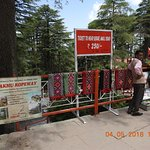 Ropeway point at The Jakhu temple