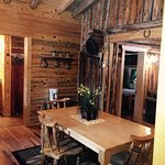 Cabins built in 1917 remodels with beautiful furniture beds and views!