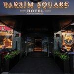 Taksim Square Hotel Entrance