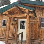The famous COWBOY cabin! Built in 1917.