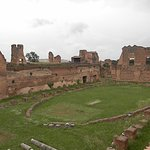 Gladiator training grounds Palintine Hill