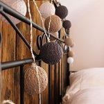 Apartament drewniany- dekoracje