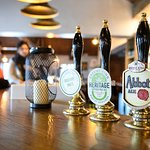 Plenty of Ales on offer