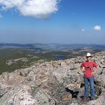 Hike to Bomber mountain in the Cloud Peak wilderness!