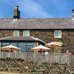 External view of the Shoreline Cafe, Craster
