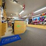 zona vendita del negozio a Pozza