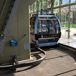 Cable Car Arriving