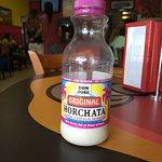 Sweet rice milk beverage, very sweet.