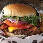 Bacon Cheeseburger Basket
