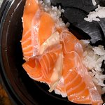 shinky skin left on sushi and sashimi and the thick part of the fish