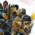 Fresh Mussels.