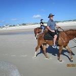 Amelia Island Horseback Riding ภาพถ่าย