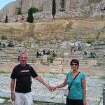 En bas de l'Acropole
