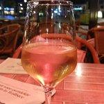 Wijntje op terras