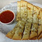 RPC Cheesy Breadsticks are a popular favorite.