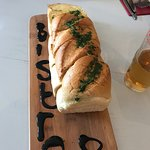 The famous Bistro8 Garlic Loaf