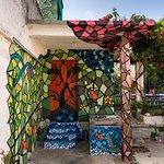 Hermosos murales en las zonas sociales