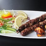Beautiful Lamb Seekh Kebabs