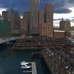 Panoramic View Of Boston's Waterfront