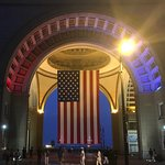 U.S. Flag at the Boston Harbor Hotel
