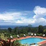 Ocean view from pool
