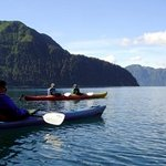 Outdoor activities abound. Kayak in Resurrection Bay adjacent to Kayakers Cove.