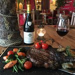 20oz T-Bone Steak   -   All of our beef is reared in the British Isles.