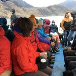 Boat from Elcog to Loch Scavaig and Loch Coruisk in the rugged Cuillin Mountains.
