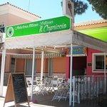 Heladeria Artesanal Italiana situada en la tercera pista, playa de la Barrosa, Complejo Atlantic