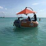 Octopus Aruba Aqua Donut Private Boat Rent Your Own Boat Fun Sun Friends Family Caribbean Sea Bl