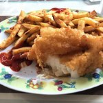 Behold, the best fish and chips ever!!!