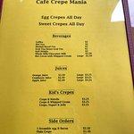 Cafe Crepe Mania