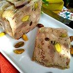 Terrine de pato com pistache