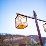 Spring/early summer at Smoke Hole Log Cabin Resort