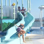 Childrens water park at Front Beach