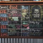 one of the menu boards
