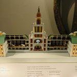 แบบจำลองอาคารพิพิธภัณฑ์ สร้างสมัยปีเตอร์มหาราช