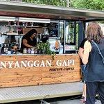 Nyanggan Gapi cafe at Sealy Lookout.