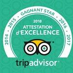 Certificat d'Excellence Star