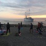 yoga sur la plage Nice
