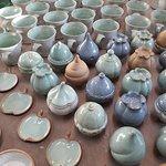 Ceramic kiln just beeing unloaded