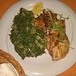 grilled calamari with spinach salad