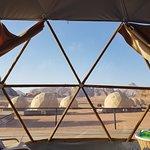 Sun City Camp Martian Tent view