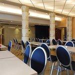The breakfast room with beautiful pillars